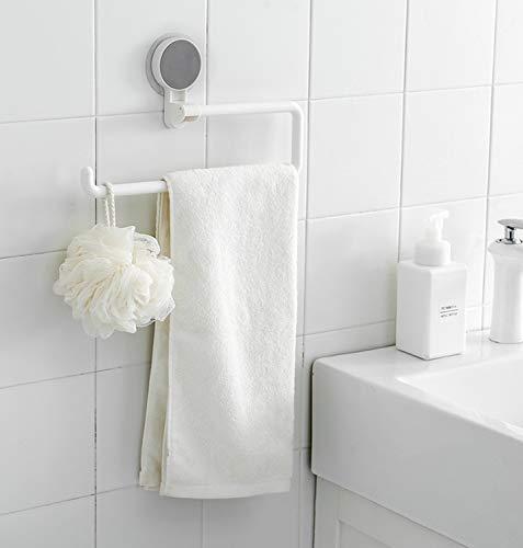 Soporte montado en la pared Rollo de papel que no deja marcas Estante para toallas Perforación libre Estante para trapos perezoso Adecuado para cocina, baño e inodoro
