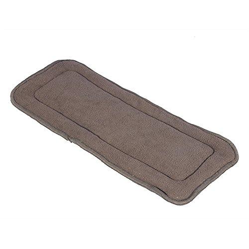 Relleno de carbón de bambú para pañales para adultos, 5 capas, forro para pañales, colchón para bebé, lavable, 2 tamaños disponibles(M)