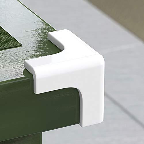 protector esquinas,protector esquinas mesa,Diseño anticolisión,de tres lados,material de PVC,fácil de limpiar,saludable y duradero,adecuado para campanas extractoras,todo tipo de bordes de muebles