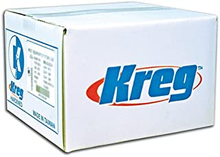 Kreg SML-C250-2000 Pocket Screws 2 1/2-Inch, 8 Coarse, Washer Head, 2000 Count