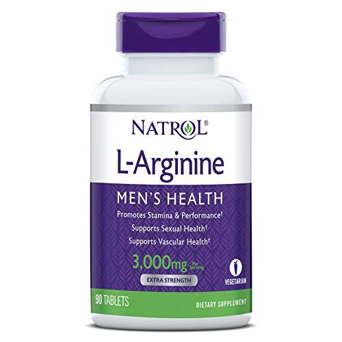 Natrol - L-アルギニン 3000 mg 90錠