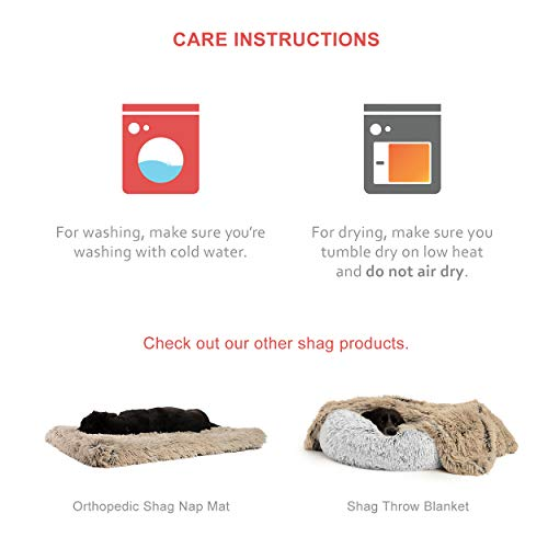 Product Image 7: Best Friends by Sheri The Original Calming Donut Cat and Dog Bed in Shag Fur