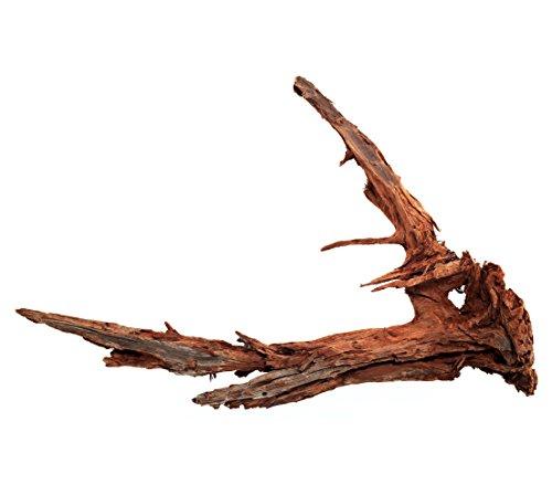 Dehner Aqua Aquariendeko Mangrovenwurzel Extra Large, Höhe ca. 80-90 cm, braun