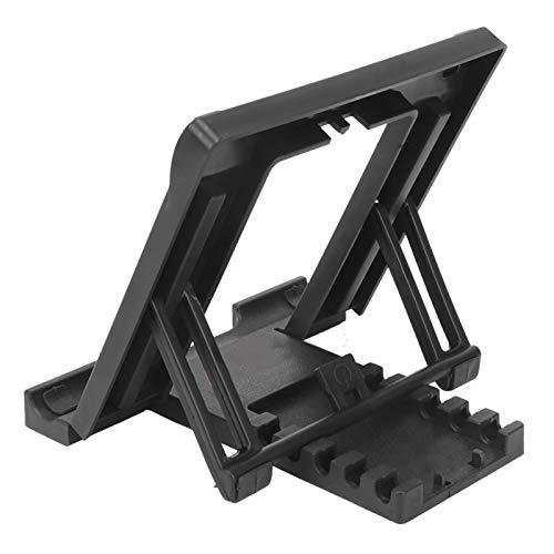 Soporte para teléfono móvil Soporte de cinco engranajes Altura ajustable Soporte de escritorio resistente, duradero y portátil Se utiliza para soporte de Tablet PC de 7-11(black)