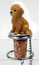 Animal Den Goldendoodle Bottle Stopper
