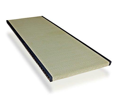 futon-online Tatami Standard japanische Matte Bodenmatte Reisstrohmatte Igusa-Gras, Größe:70 x 200 cm