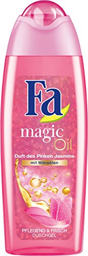 Fa Magic Oil Duschgel, Duft des Pinken Jasmin, 6er Pack (6 x 250 ml)
