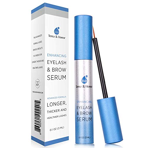 Natural Eyelash Growth Serum and Brow Enhancer to Grow Thicker, Longer Lashes for Long, Luscious Lashes and Eyebrows[3ml]