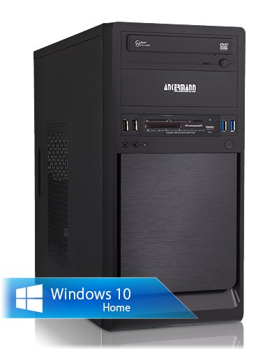 Ankermann-PC Switcher, AMD Athlon X4 860K Black Edition, 4x 3.70GHz Turbo: 4.00GHz, MSI GeForce N730 4GB DDR3, 8 GB DDR3 RAM, 120GB Kingston SSD, Microsoft Windows 10 Home 64Bit (Deutsch), Card Reader, EAN 4260370252126