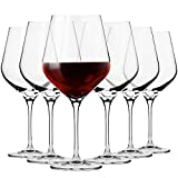Krosno Grande Copas de Vino Tinto | Conjunto de 6 Piezas | 860 ML | Splendour Collection U...
