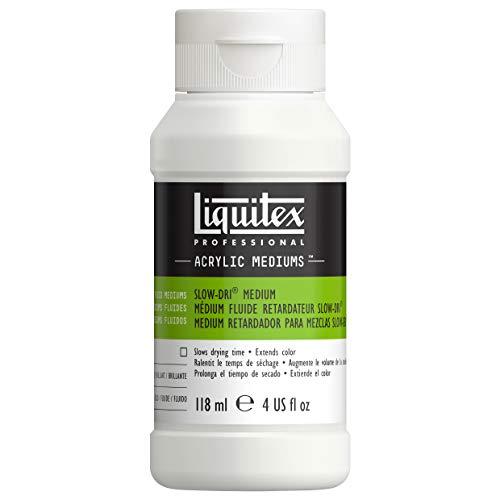 Liquitex - Medium ritardante per mescolanze Slow-Dri, 118ml