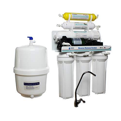 Sistema ad osmosi inversa 5 stadi con pompa