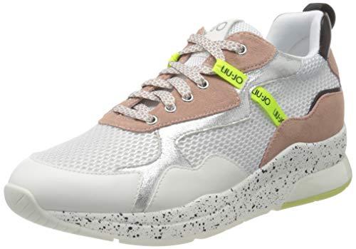 Liu Jo Shoes Karlie 35-Sneaker, Scarpe da Ginnastica Basse Donna, Beige (Nude 51315), 40 EU