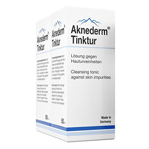 Aknederm Tinktur gegen Hautunreinheiten, 100 ml Lösung