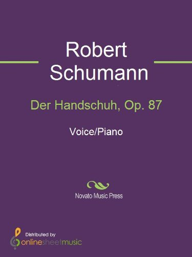 Der Handschuh, Op. 87 (English Edition)