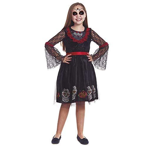 Disfraz Catrina Calaveras para niña(10-12 años)