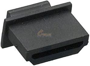 Cable Leader HDMI Female Dust Cover, Black Color, 50pcs/Bag
