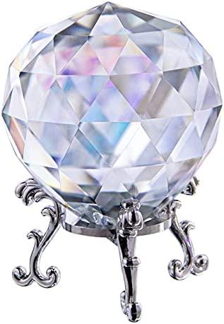 HD Suncatcher Crystal Ball Prism Crysta Gazing Clear Cut trend rank Clearance SALE Limited time -