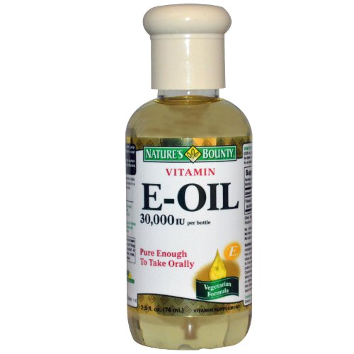 Vitamin E Oil by Nature's Bounty, Supports Immune Health and Antioxidant Health, 30,000IU Vitamin E, Topical or Oral oil, 2.5 oz