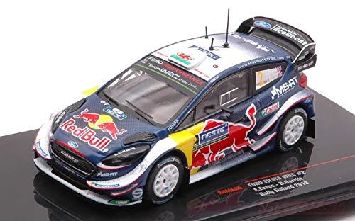 IXO Model RAM685 Ford Fiesta WRC N.2 WM Rally Finlandia 2018 Evans-Barritt 1:43