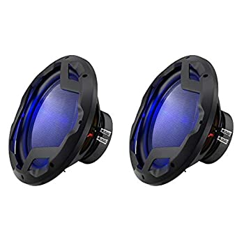 Boss Audio 12 Inch DVC 1600W Subwoofer w/ LED Illumination  2 Pack  | PD12LED