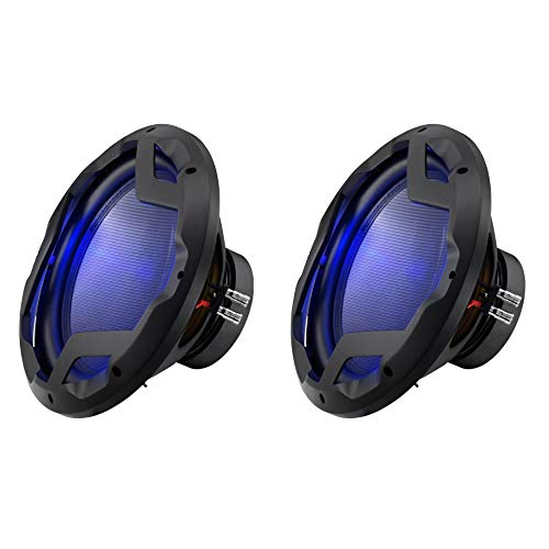 Boss Audio 12 Inch DVC 1600W Subwoofer w/ LED Illumination (2 Pack) | PD12LED