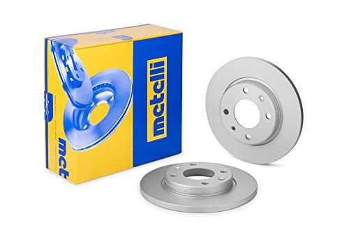 metelligroup 23-0486C Bremsscheiben Lackiert, Kit bestehend aus 2 Bremsscheiben, Ersatzteil im Auto, ECE R90-zertifiziert