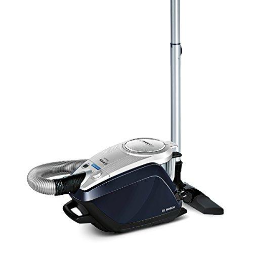 Bosch Staubsauger beutellos Relaxx'x ProSilence Plus BGS5A300, leise, ideal für Allergiker, Hygiene-Filter, Bodendüse für Parkett, Teppich, Fliesen, Selbstreinigung, 700 W, silber