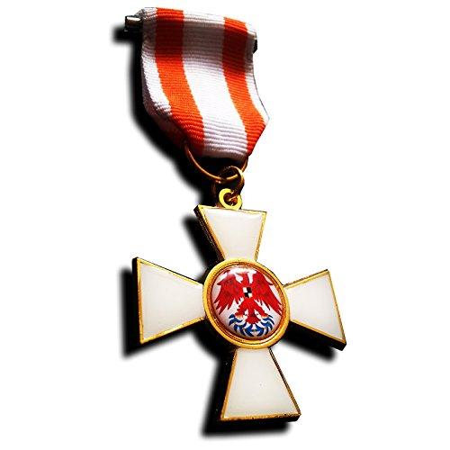 Freecrows Ltd Roter Adlerorden 3. Klasse Preußen Militärische Medaille, Deutsche Medaille Replik