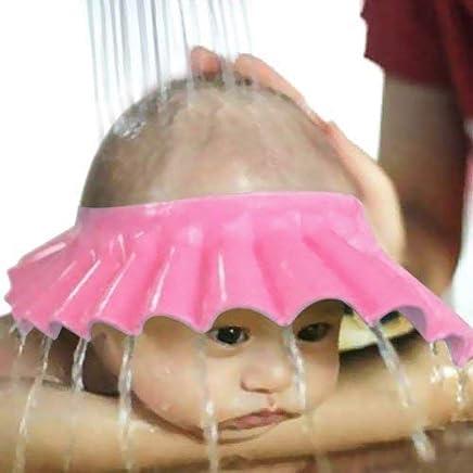 Flipco Adjustable Safe Soft Bathing Baby Shower Cap