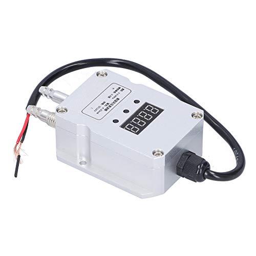 Sensor De Presión Diferencial, 1 Transmisor De Presión De Viento Plateado Finamente Ensamblado Para Ventilación Descendente Para Suministro De Aire De Caldera Para Control De Procesos De(0-5 Kpa)
