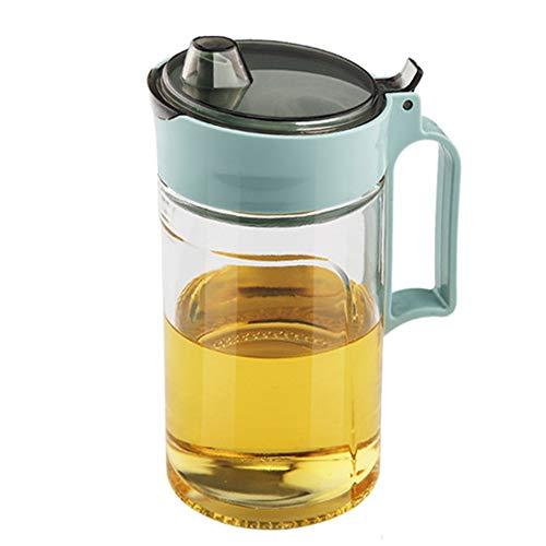 TENTA KITCHEN Olive Oil Vinegar Syrups Bottle Dispenser Cruet - 22Oz Oil Bottle Glass with No Drip Plastic Bottle Spout And Protective cap