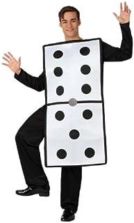 Atosa - Disfraz de domino adultos, talla 50-52 (8422259156154)