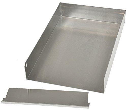 Hobbybäcker Schnitten-Blech, ✔ Form für Blechkuchen und Sahne-Schnitten, Schnittenform 30 x 20 cm, 5 cm hoch