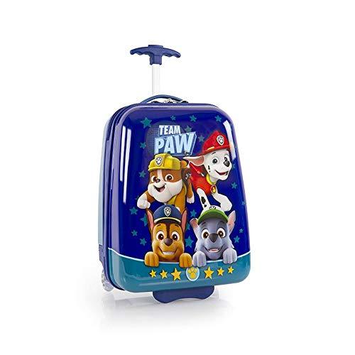 Nickelodeon PAW Patrol - Equipaje ligero para niños de 45,72 cm, color azul