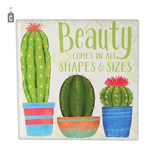 Vacchetti S.p.A Sottopentola Mattonella Ceramica Cactus cm.16x16