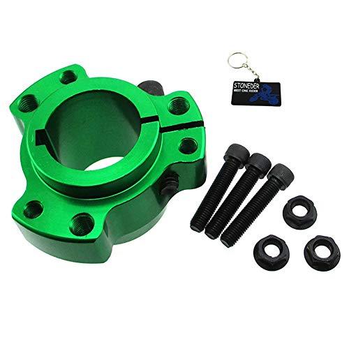 STONEDER Buje de rueda trasera verde de 32 mm de diámetro de 1/4 pulgadas para carreras, Kart, Drift Trike
