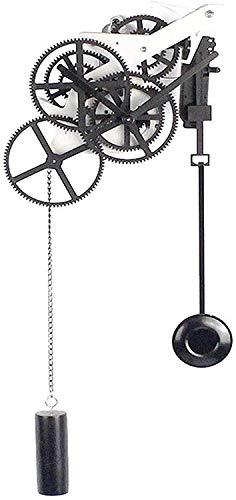 Gymqian Multi-Getriebe Wanduhr Kreative Industrielle Mechanische Große Getriebe Wandkunst Zahnrad Pendel Silent Wanduhr Batteriebetriebene Quarzwerkhotel Bar Kreative Wanddekor-19 ×