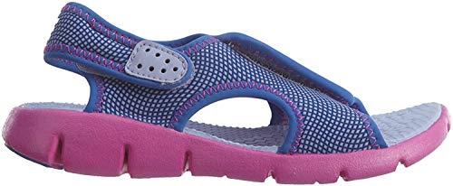 Nike Sunray Adjust 4 (Gs/Ps), Jungen Badesandalen , - Hydrangeas/Fire Pink - Größe: 36.5 EU