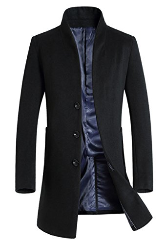 Slim Fit Trench Coat Men