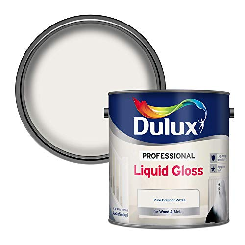 Dulux Profesjonalna farba płynna do drewna i metalu - czysta brylantowa biel 2,5 l