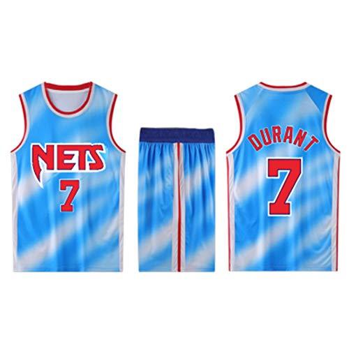 JHJU Nets No 11 Camiseta Irving No 7 Camiseta Durant No 13 Camiseta de Baloncesto Harden, Chaleco de competición para Hombres y Mujeres, Conjunto de Camiseta de Entrenamiento XL 7