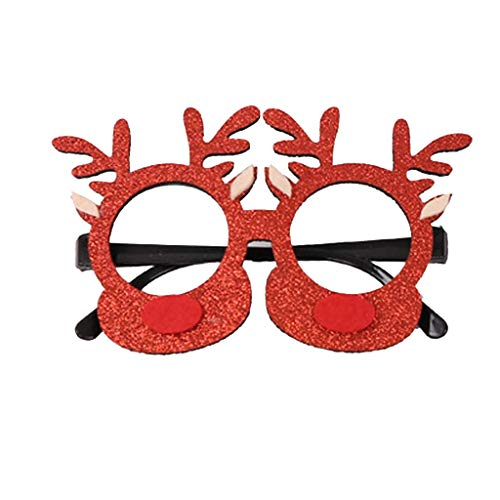 Xisheep Christmas Glasses Festival Party Adult Creative Gifts School Children's Decorati, Christmas Holiday Party Decoration