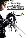 IFUNEW Lona Pared Arte Edward Scissorhands película Johnny Depp Tim Burton Cartel de Pared decoración artística 60x90cm