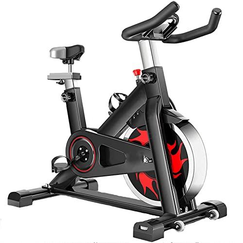 Bicicletas de Ejercicio Entrenamiento de Cardio, Bicicleta de Ciclismo en Interiores, Asiento Ajustable y Bicicleta de reposabrazos con Pantalla LCD, máquinas de Entrenamiento aeróbico