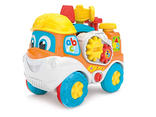Clementoni 61770 Clementoni-61770-Baby Interactief gereedschap Truck, meerkleurig