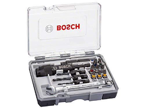 Bosch Professional 2607002786 Bosch–Set di Trapano/cacciavite (Valigetta con 20 Pezzi), 0 W, 0 V, Grigio