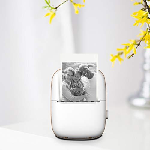 KAMLIKE Mini-Fotodrucker Pocket-Wireless-BT Thermodrucker Bild Etikett Foto Memo Drucker Minidrucker