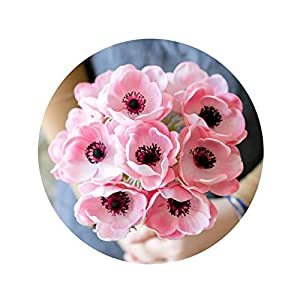 SACYSAC Artificial Flowers, Artificial Flowers with Fragrant Poppy Bunches, Suitable for Decorative Flowers in The Living Room