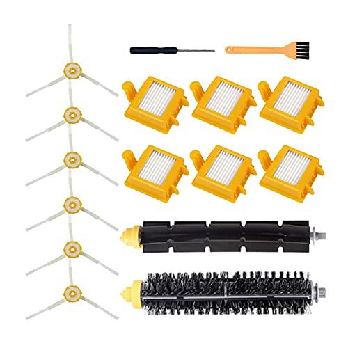 LINGLING Peter LI Kit de reemplazo Pinceles Filtros Fit para Irobot Roomba 700 Series 760 770 772 774 775 776 780 782 785 786 790 Piezas de aspiradora (Color : SMT202)
